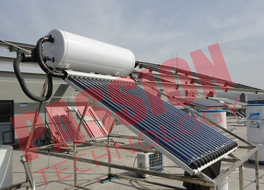 6 Bar Heat Pipe Solar Water Heater Pressurized SUS304 Stainless Steel