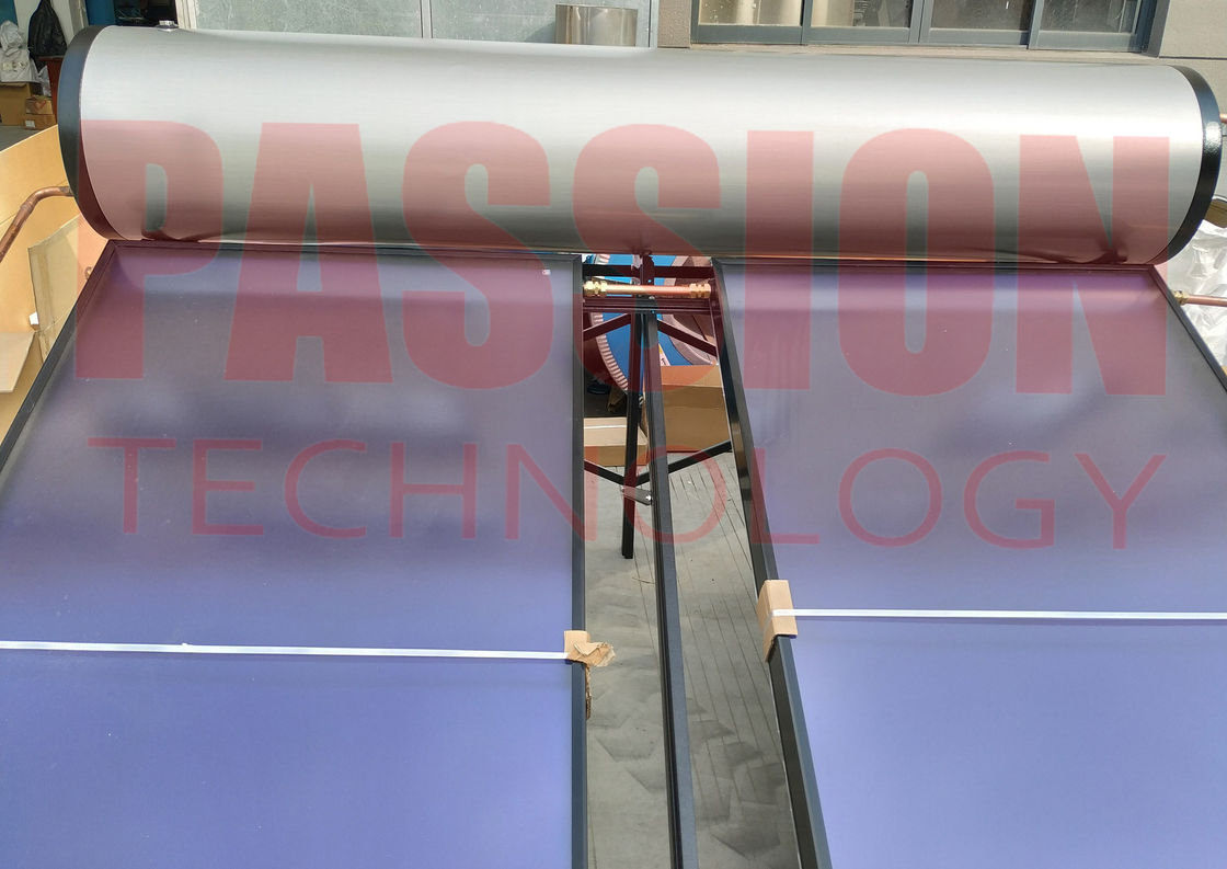 Pool Heating Flat Plate Solar Water Heater , Pressurized Flat Plate Solar Heating System